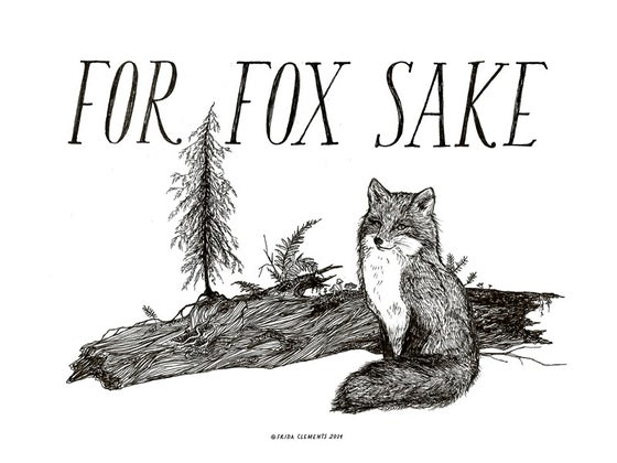 Image of For Fox Sake / Mini Print