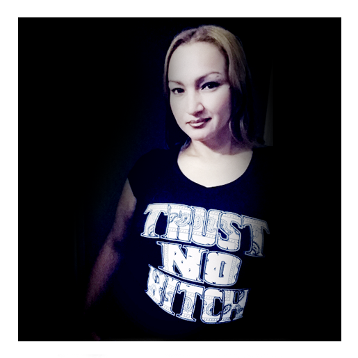 Image of Trust No Bitch Ladies Top