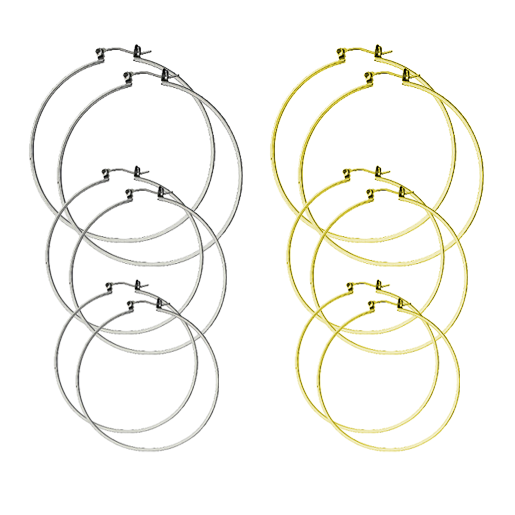 Image of DoLL Earring Hoop Set