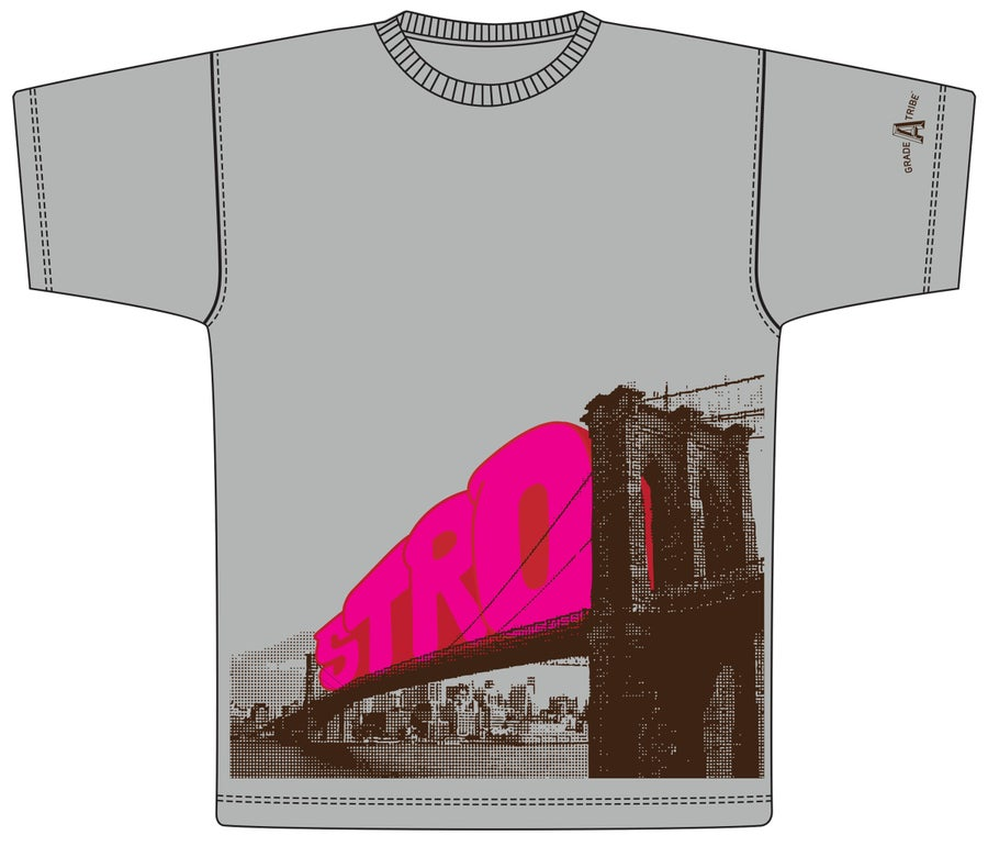 Image of Stro Bridge T-Shirt (Gray)