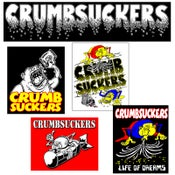 Image of CRUMBSUCKERS Sticker Pack
