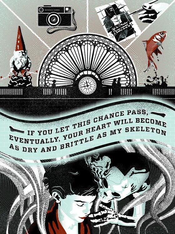 """Image of """"Amélie Poulain: You Don't Have Bones of Glass"""""""