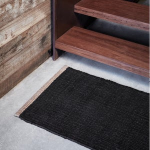 Image of Nest Weave Entrance Mat | Charcoal