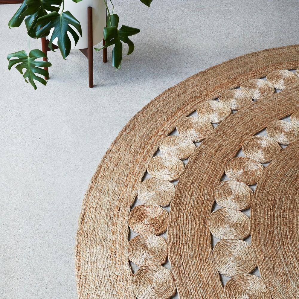Image of Dandelion Rug | Natural
