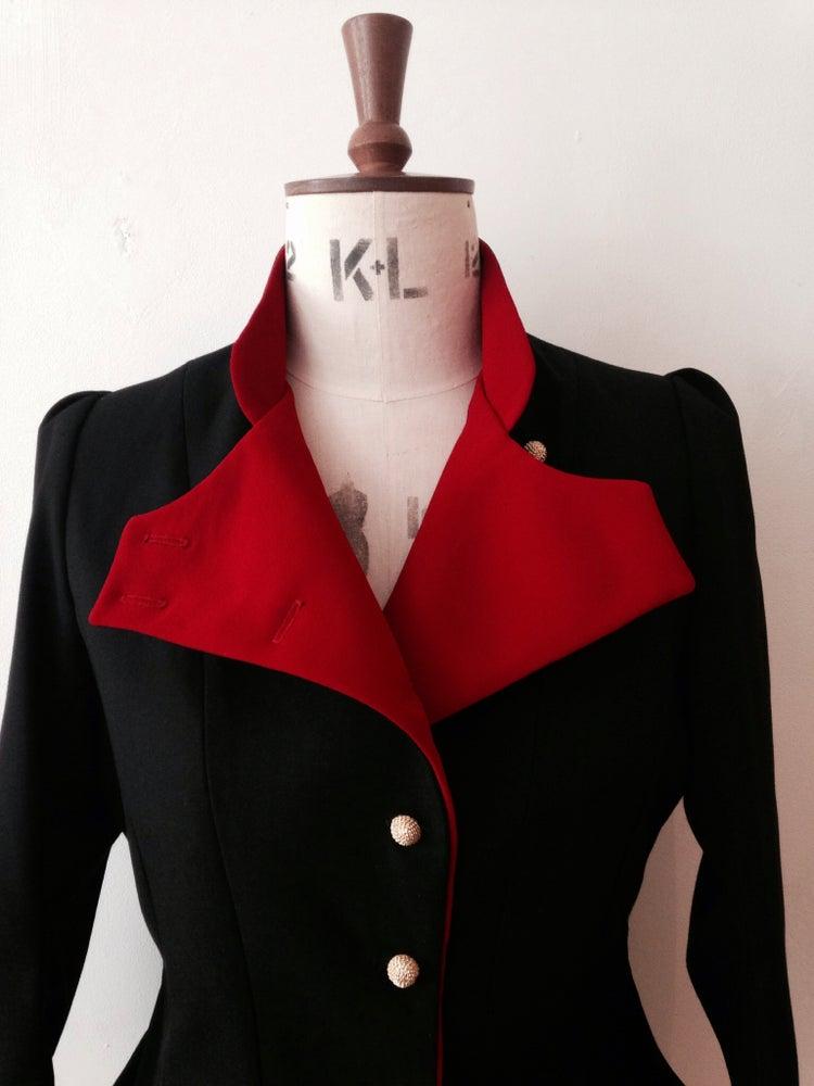 Image of 2-tone fencing jacket
