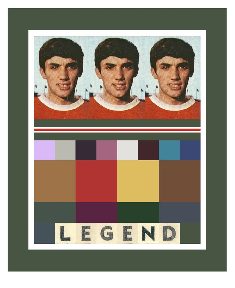 Image of George Best – Legend – Green Edition