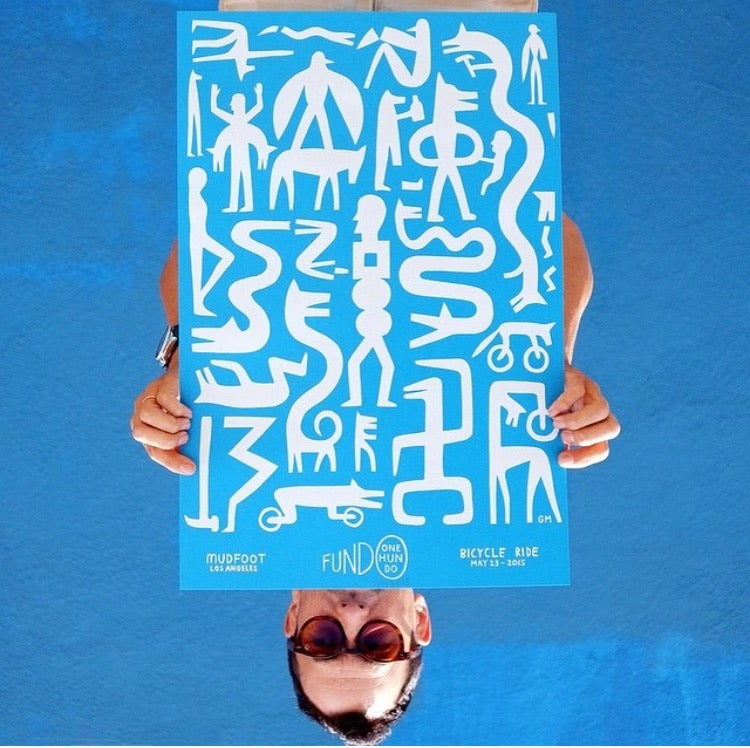 Image of Mudfoot Fundo One Hundo Ride Poster.
