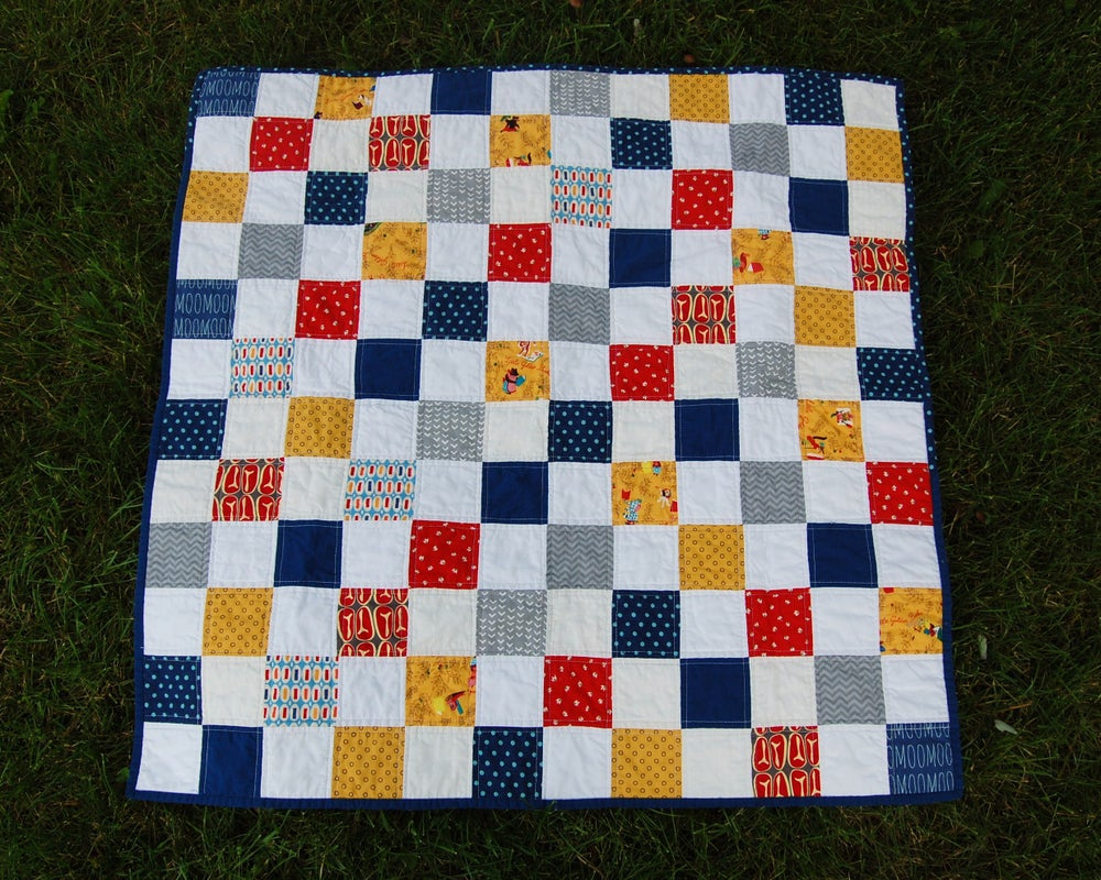 Image of Ranch Hand Baby Quilt