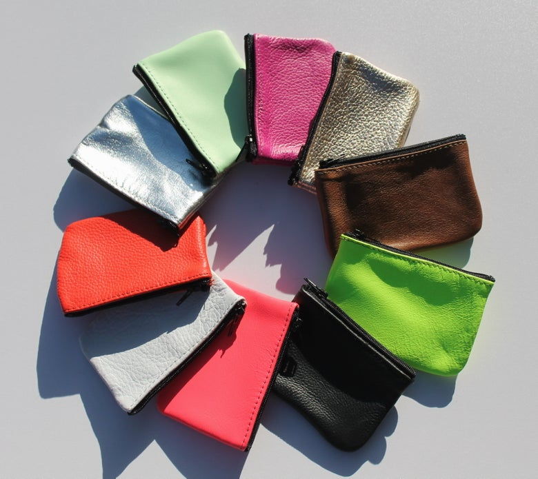 Image of Cards and Change Purse