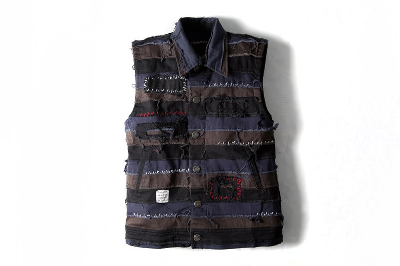 Image of LOMBARDO DENIM VEST