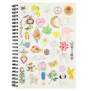 Image of Hello Girls & Hello Boys A5 Spiral Notebook
