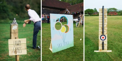 Image of LAWN GAMES! Splat the Rat, Sack Attack & Tin Can Alley... FOR HIRE / £75 A DAY