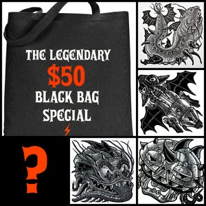 Image of The Legendary Black Bag Special