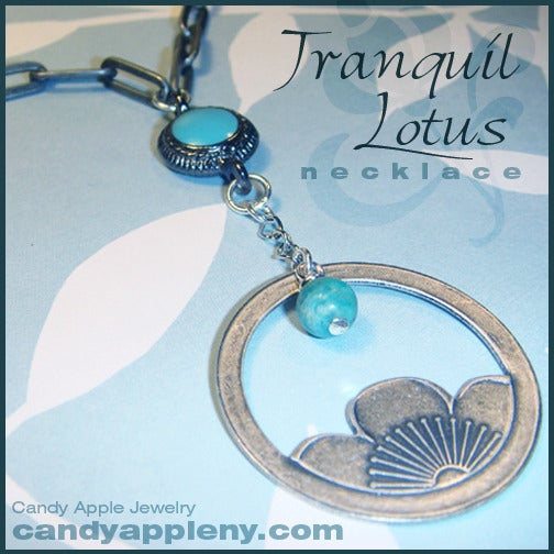 Image of Tranquil Lotus Necklace