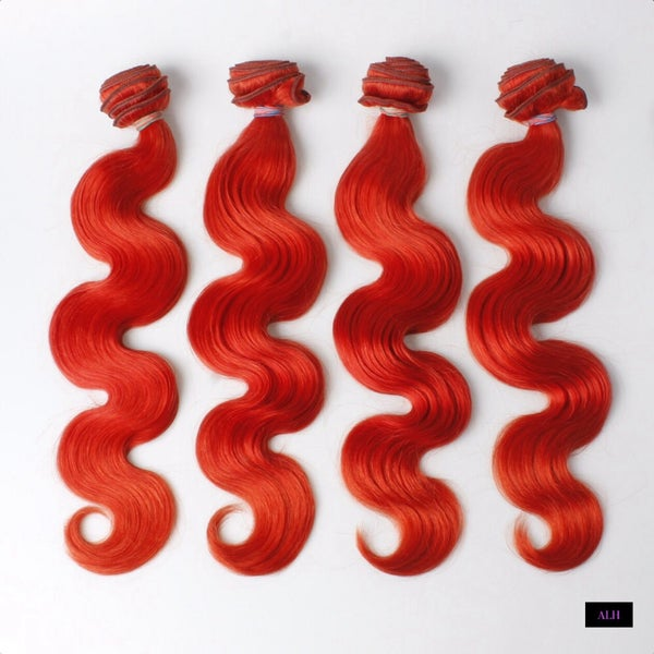 Image of RED Brazillian Body Wave