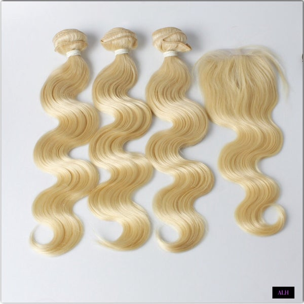 Image of Blonde Brazilian Bodywave