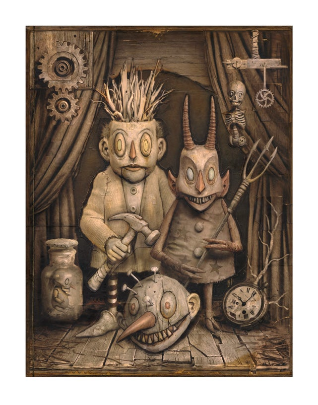 """Image of """"Diablerie"""" Limited Edition print"""