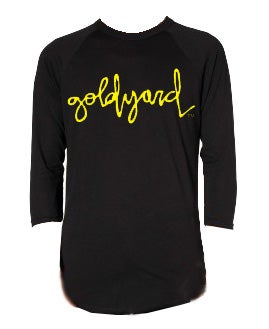 Image of Goldyard Logo 3/4 sleeve shirt