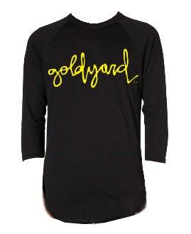 Image of Goldyard Logo 3/4 sleeve shirt