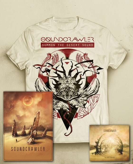 Image of T-Shirt + The Dead-end Host (Digipack) + Poster