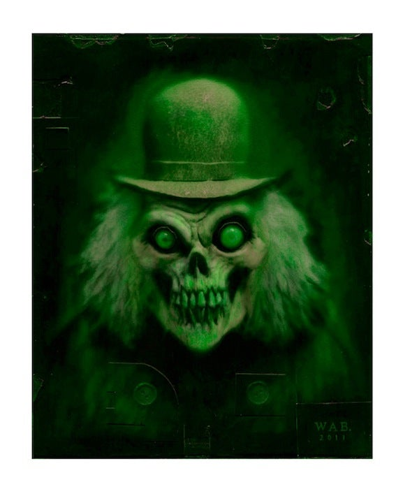 """Image of """"Mr. Grins"""" (Green) Limited Edition print"""