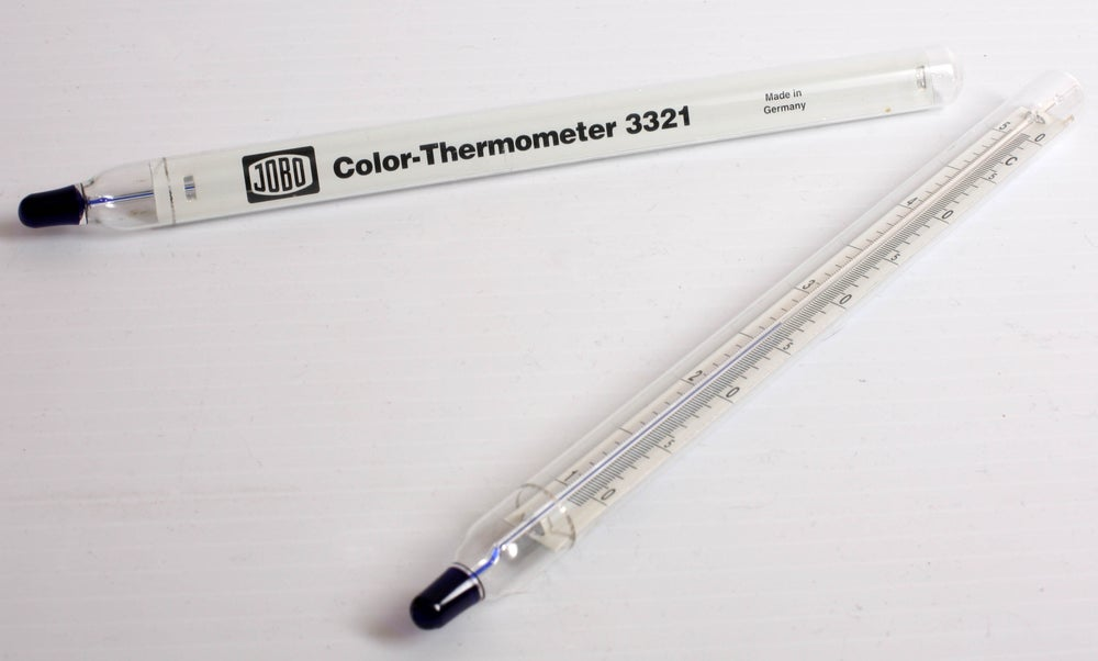 Image of Jobo precision color process thermometer 3321