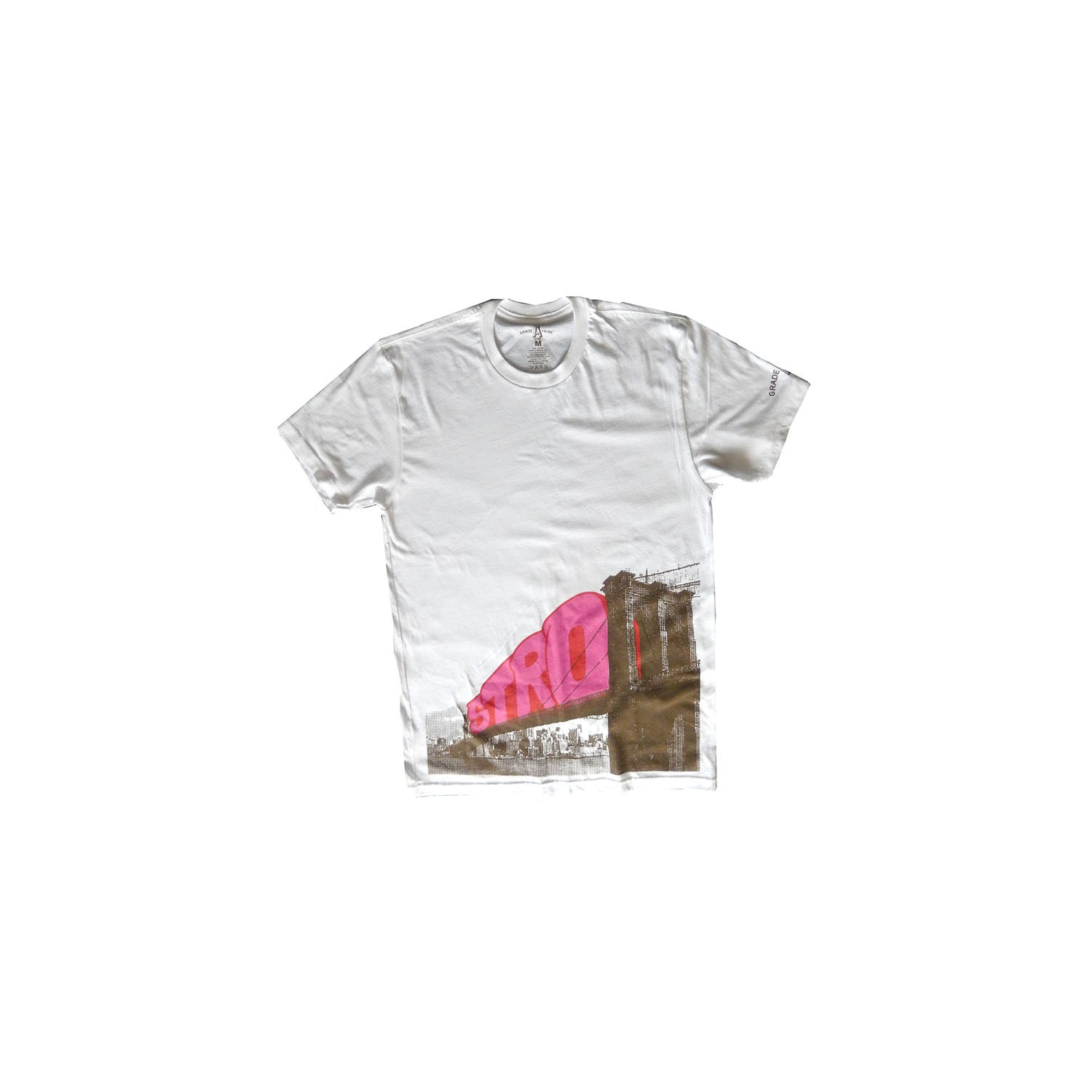 Image of Stro Bridge T-Shirt (White)