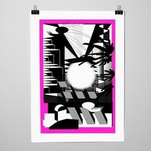 """Image of Sérigraphie """"Panini 1"""" par l'Atelier La Casse"""