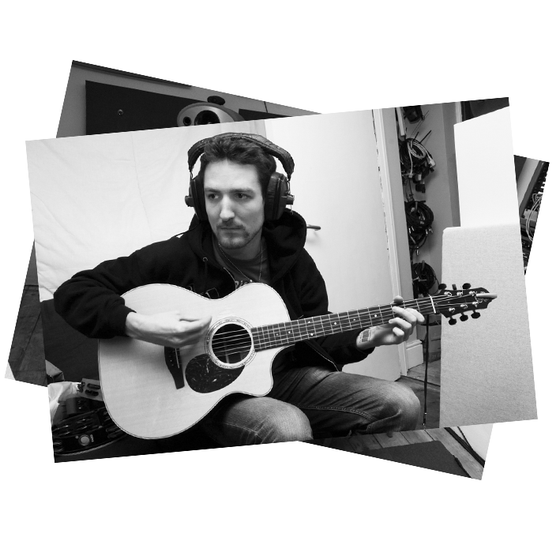 Image of Frank Turner - Ltd. Print: Church Studios #1 B&W