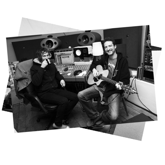 Image of Frank Turner - Ltd. Print: Church Studios #2 B&W