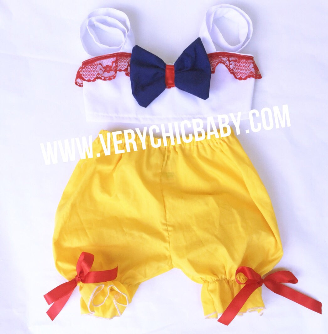 Image of Snow White Inspired Bloomkini