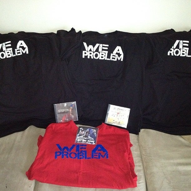 Image of We A Problem Logo T-Shirt