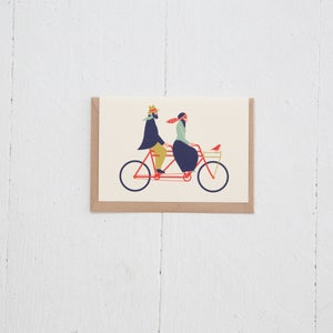 Image of Greeting Card | Love Tandem