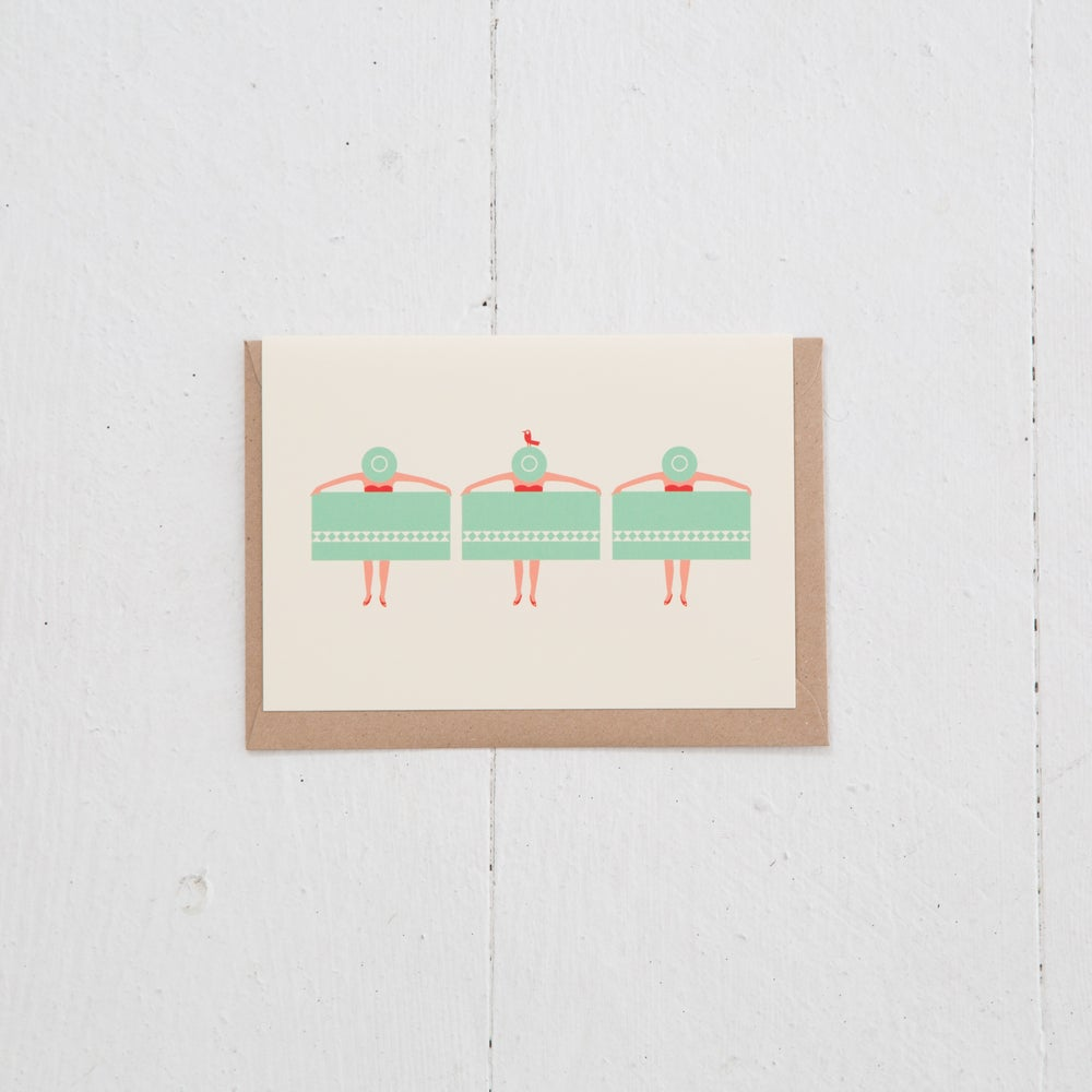 Image of Greeting Card | Palmsprings Plage