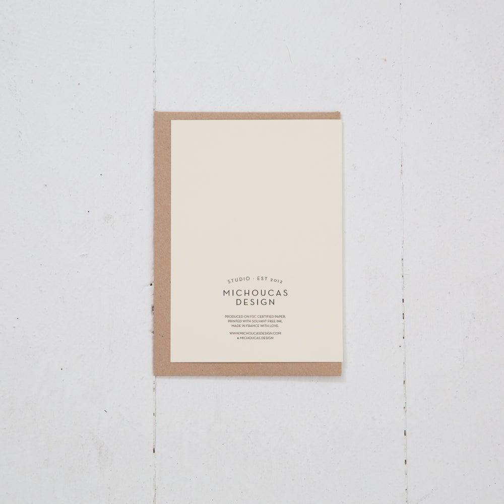 Image of Greeting Card   Les Danseuses de palmsprings