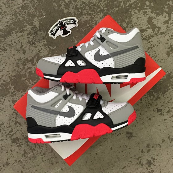 Image of Nike Air Trainer III GS 'Infrared'