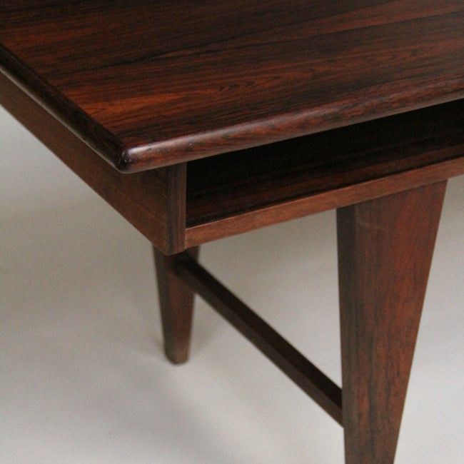 Image of Mid-century rosewood coffee table