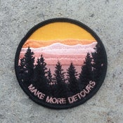 Image of Make More Detours Iron On Patch (Preorder)