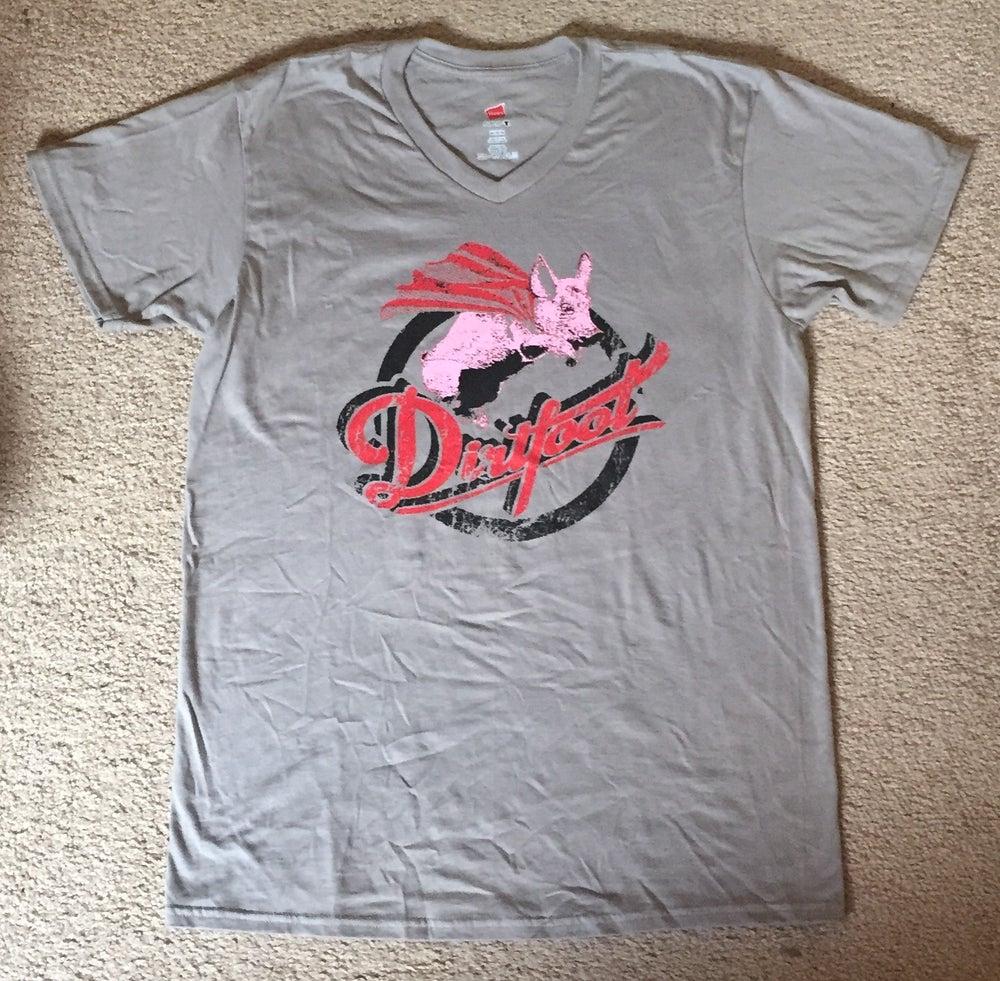 Image of Dirtfoot Super Pig V Neck T Shirt