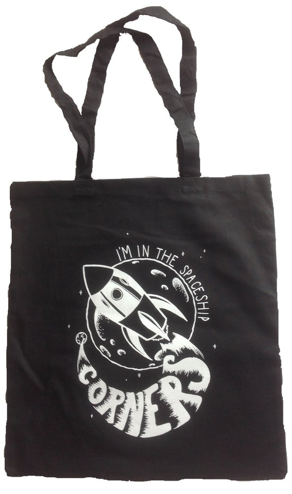 """Image of """"THE SPACESHIP"""" TOTE BAG"""