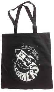 "Image of ""THE SPACESHIP"" TOTE BAG"