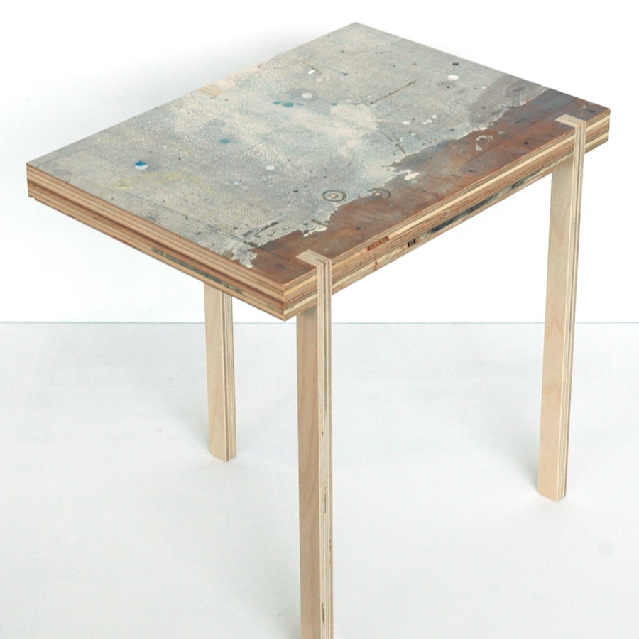 Image of rectangular table #009 (three legged)