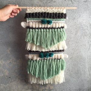 Image of HANDMADE WALL WEAVING 18