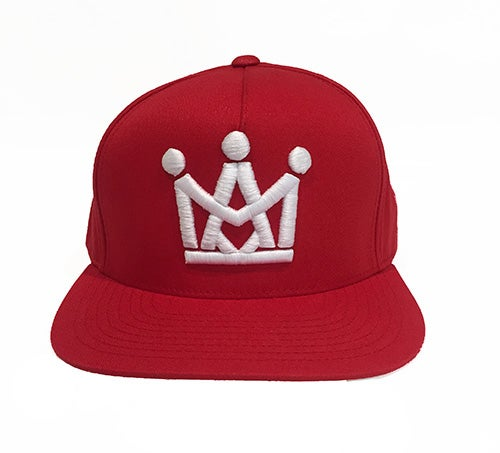 Image of RED CROWN SNAPBACK