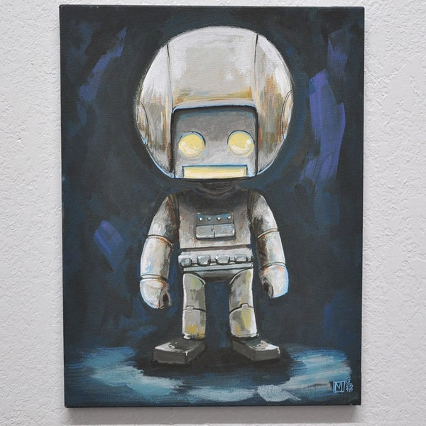I'm a spaceman! - Matt Q. Spangler Illustration