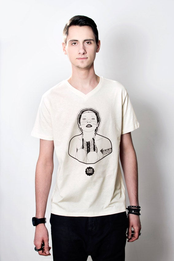 Image of Sam - Tee-shirt col V homme