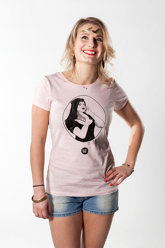 Image of The Lady-T-shirt à col rond femme