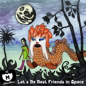 """Image of Let's Be Best Friends In Space 7"""" Single"""