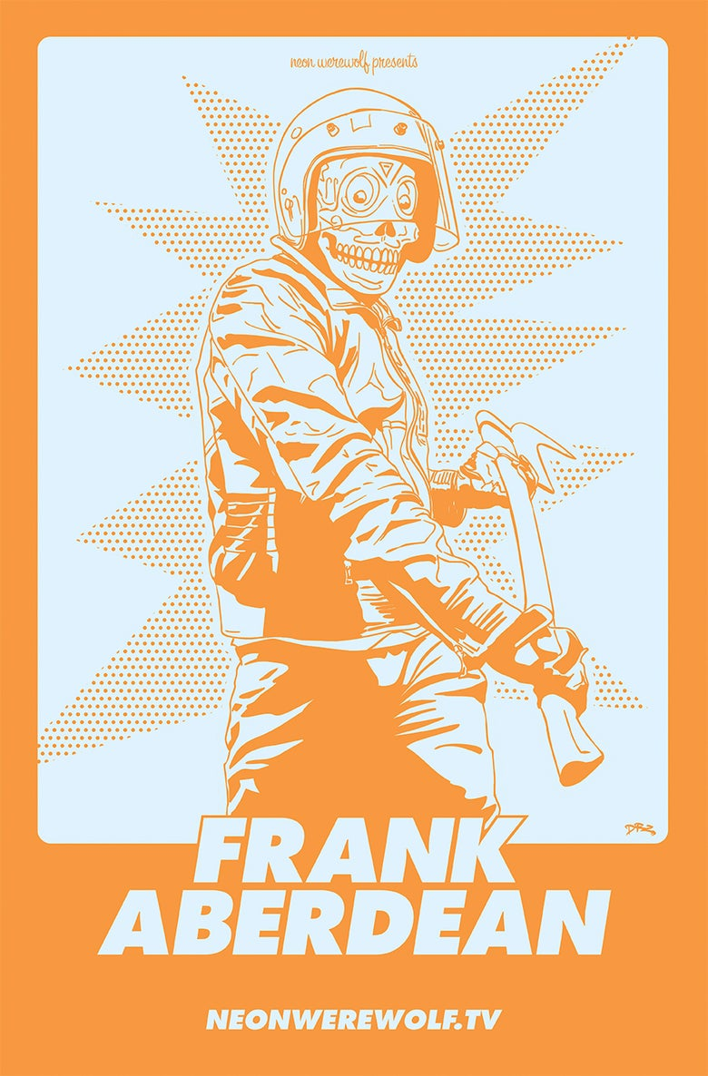 Image of Frank Aberdean - Silkscreen Print by James Zdaniewski