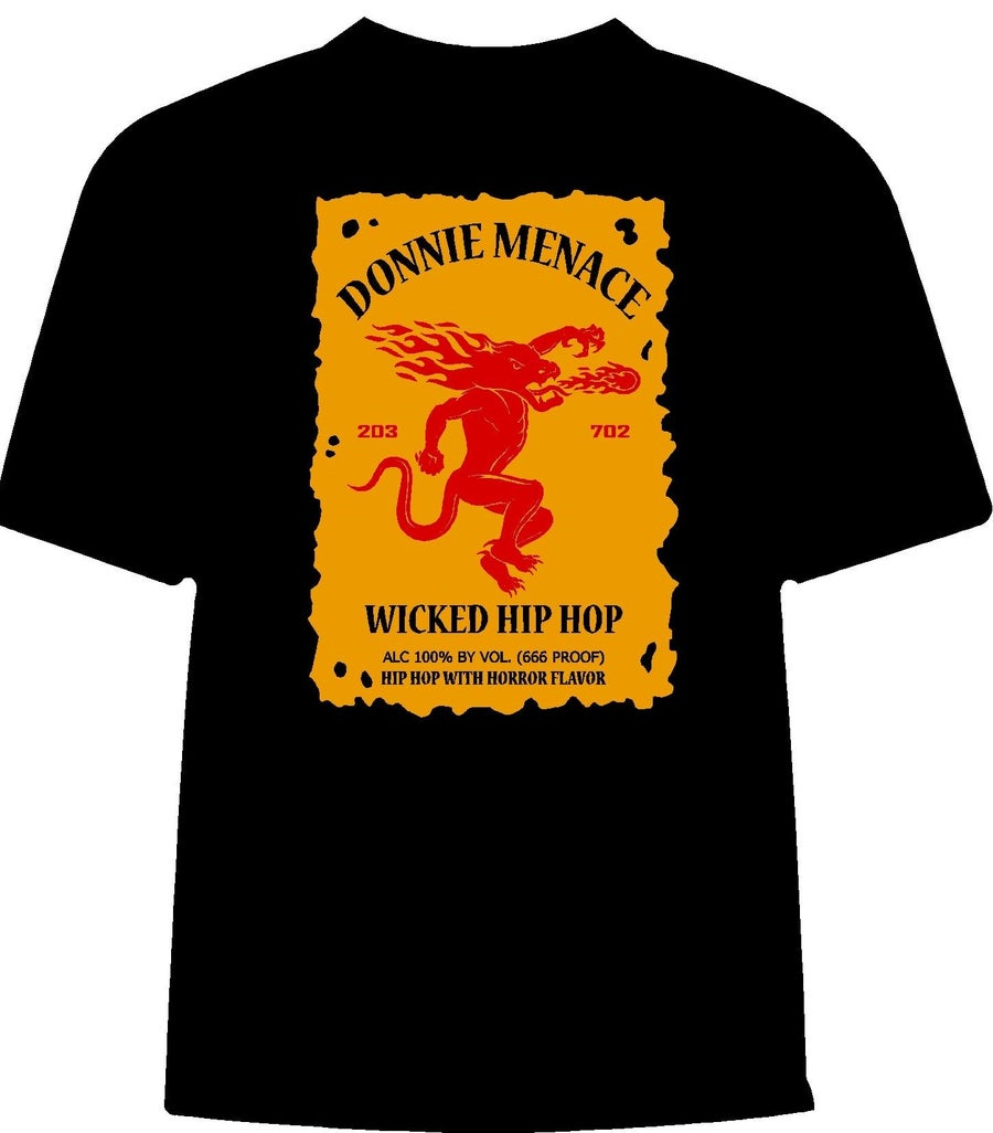 "Image of Donnie Menace ""FireBarz"" T-Shirt"